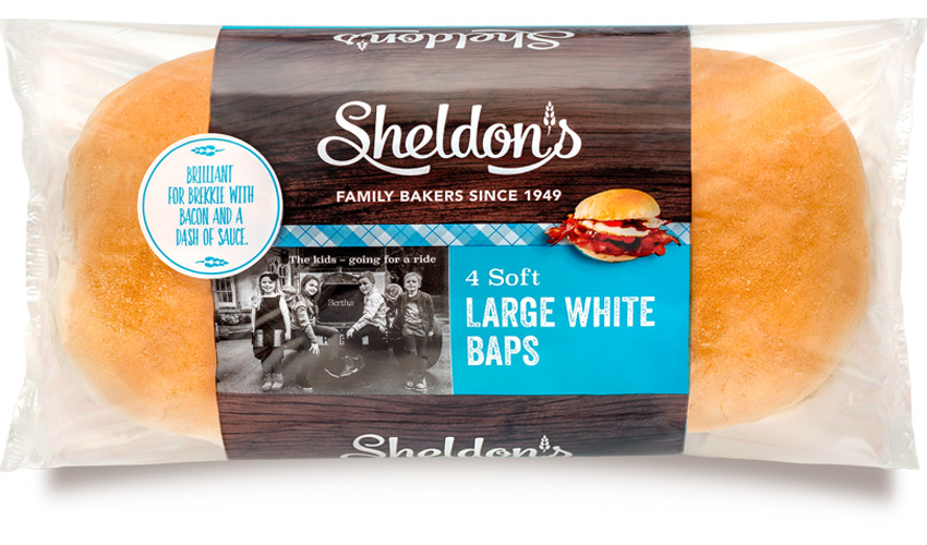 Large White Baps - H