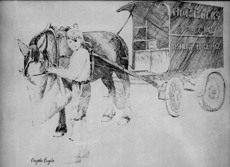 Harold and Horrocks horse