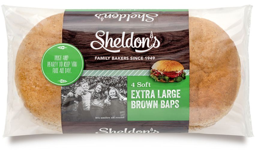 Extra Large Brown Baps