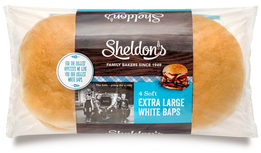 Extra Large White Baps
