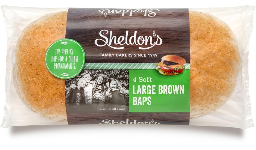 Large Brown Baps