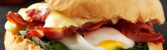 Sheldons Egg and Bacon Butty