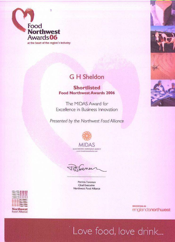 Midas Award for excellence
